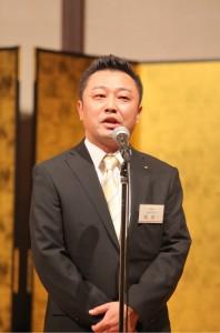 原取締役営業本部長の謝辞